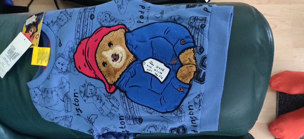 Tu paddington bear jumper
