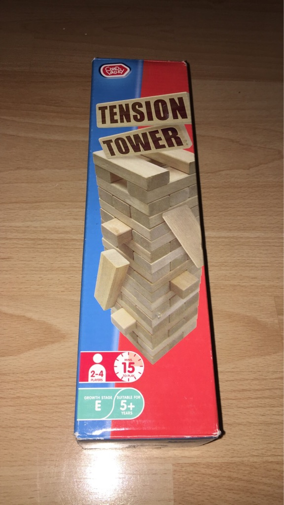 Tension tower