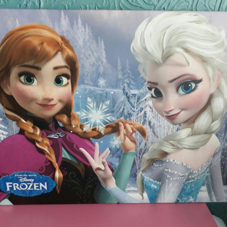 Frozen canvass
