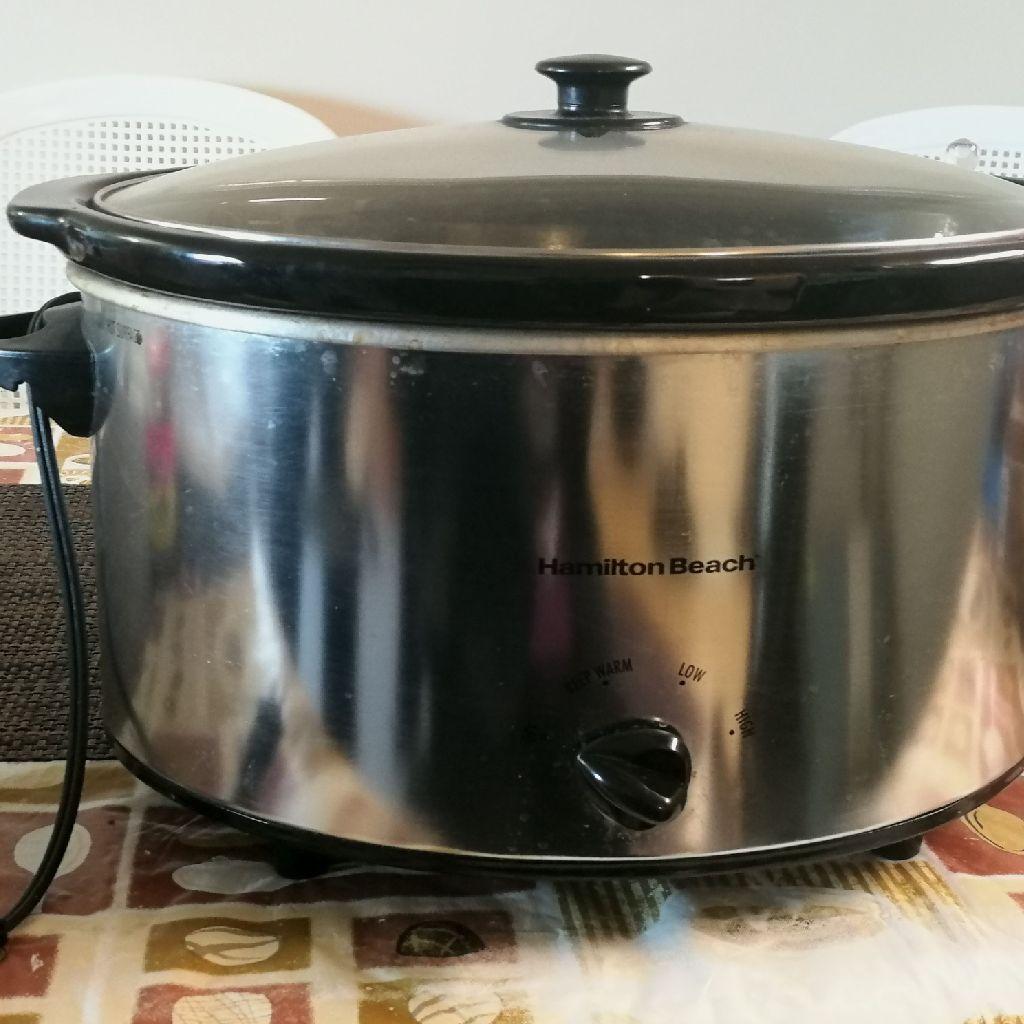 Hamilton 7 quart slow cooker