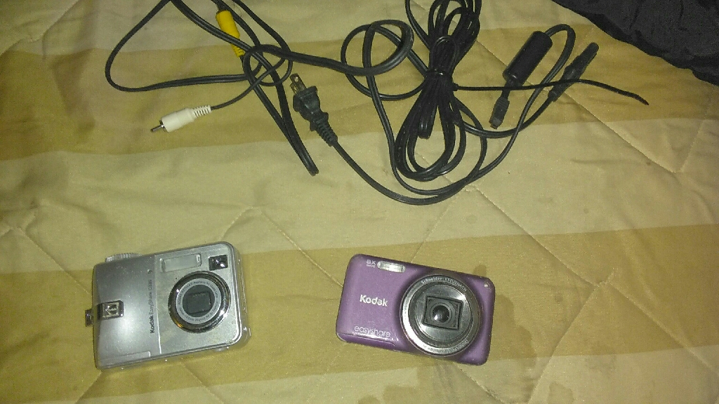 Digital cameras as is