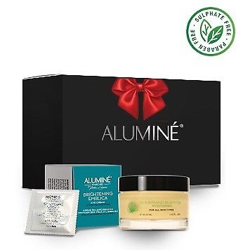 ALUMINE GIFT SET (Moisterizer + Eye cream)