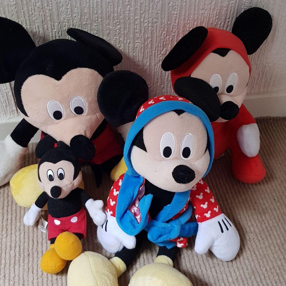 Mickey soft toys
