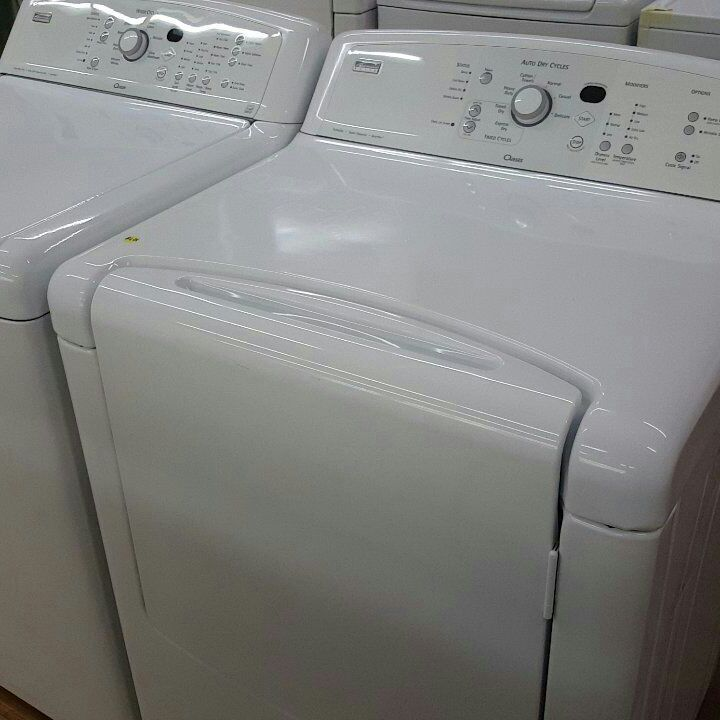Washer and dryer kenmore elite ( electric)