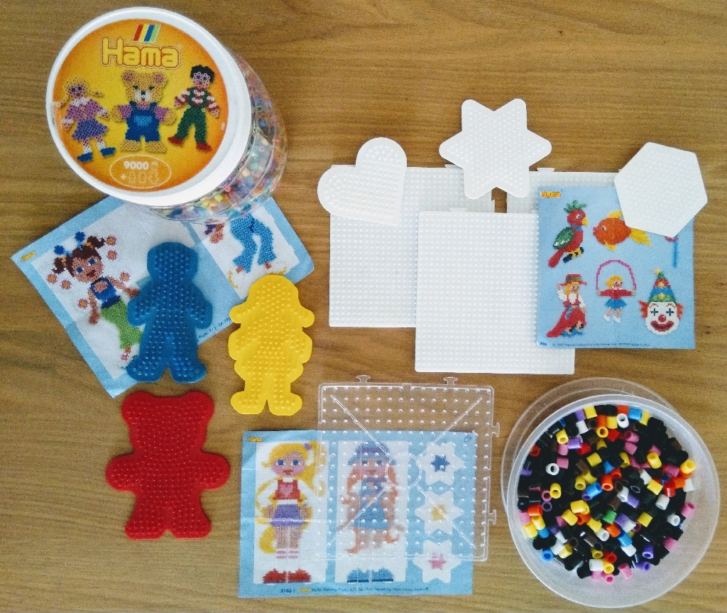 Children's Hama Beads and Pegboards
