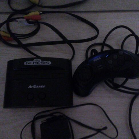 Sega Genesis at games console