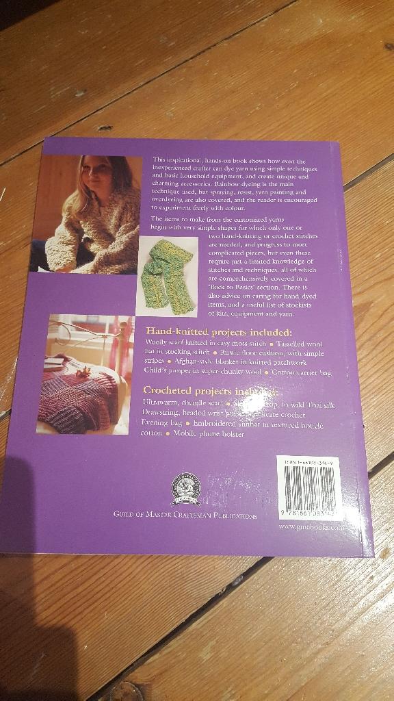 Brand new knitting book