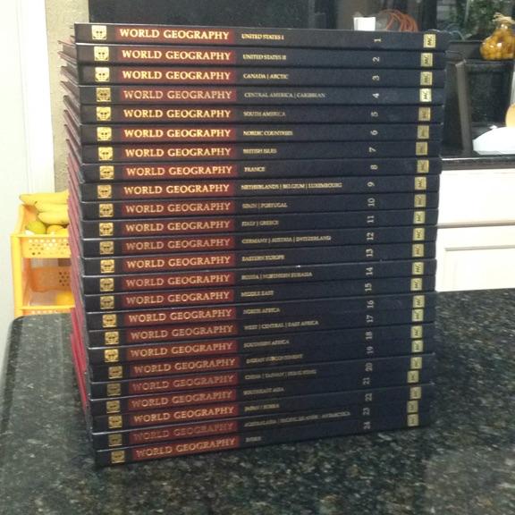 World geography encyclopedias