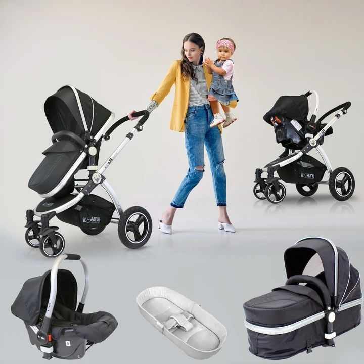 3 in 1 iSafe travel system