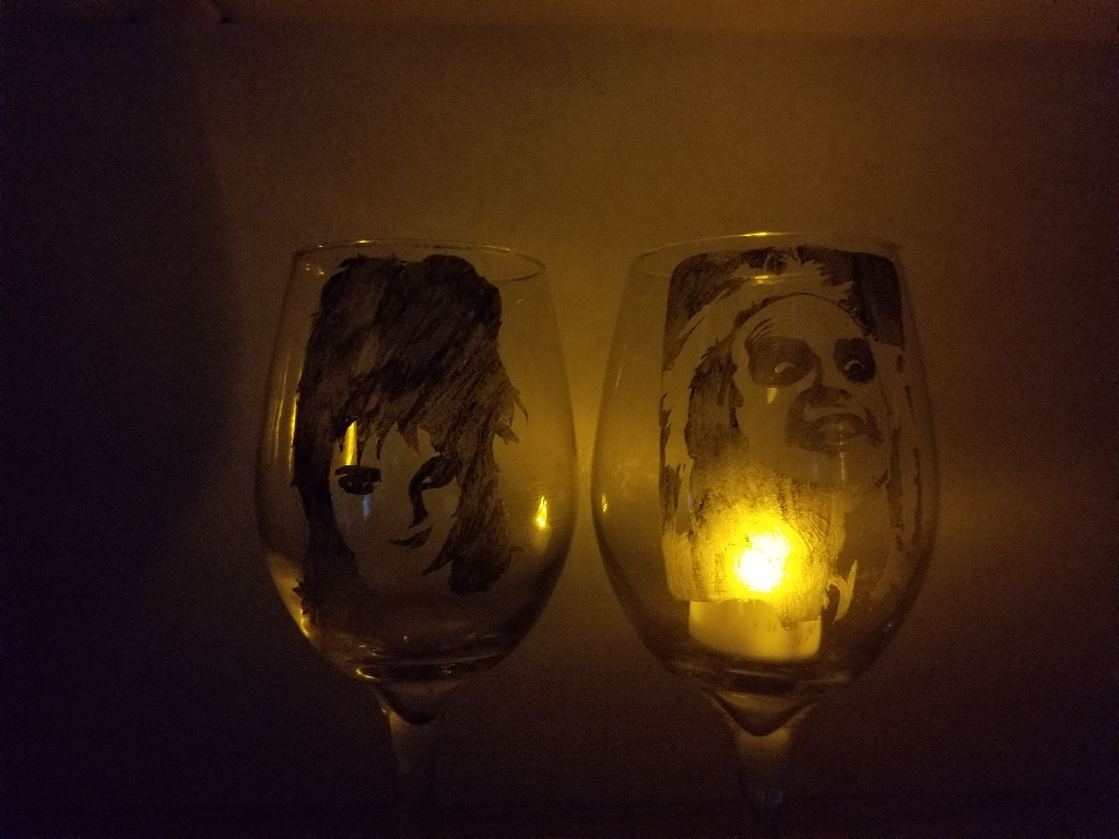 Beetlejuice and lydia flameless candle holder
