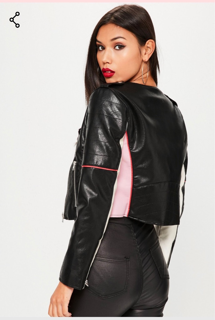 Brand new with tags biker jacket size 6