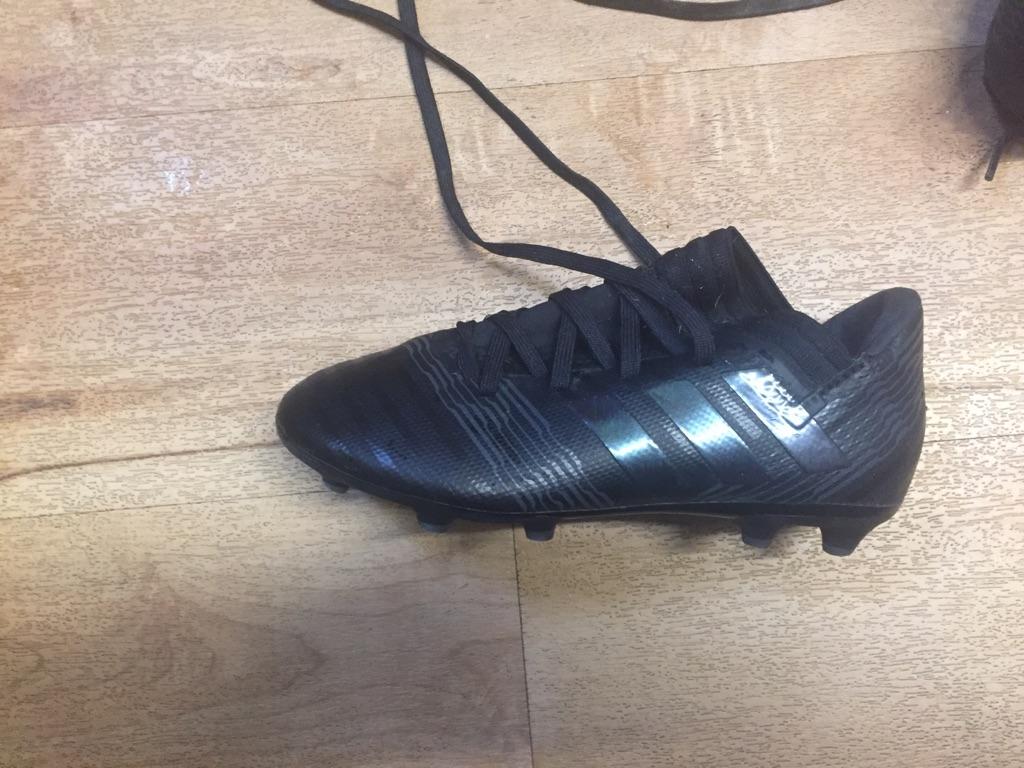 Child's Adidas football boots