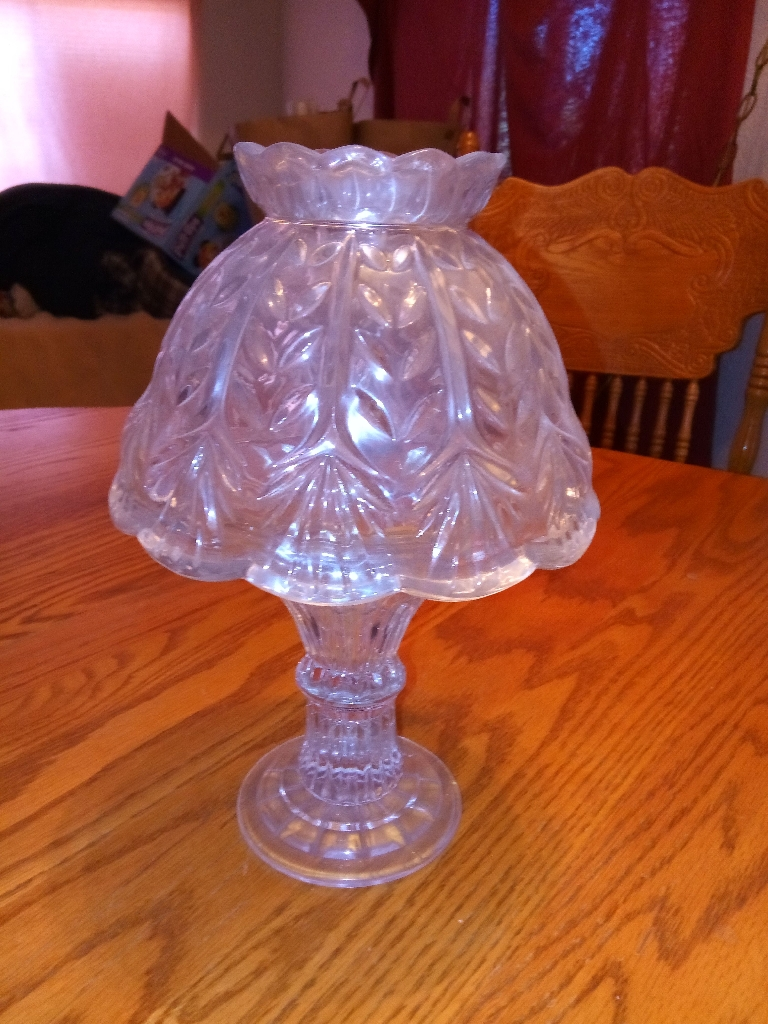 Crystal candle lamp
