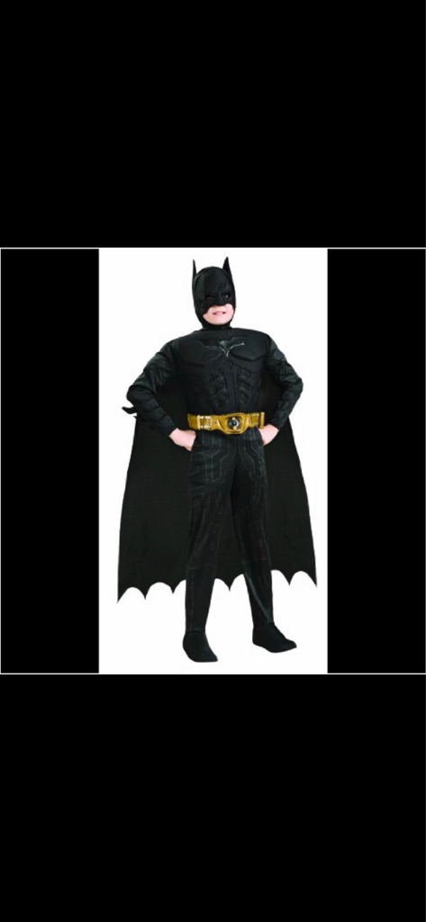 Rubie's Child costume BATMAN