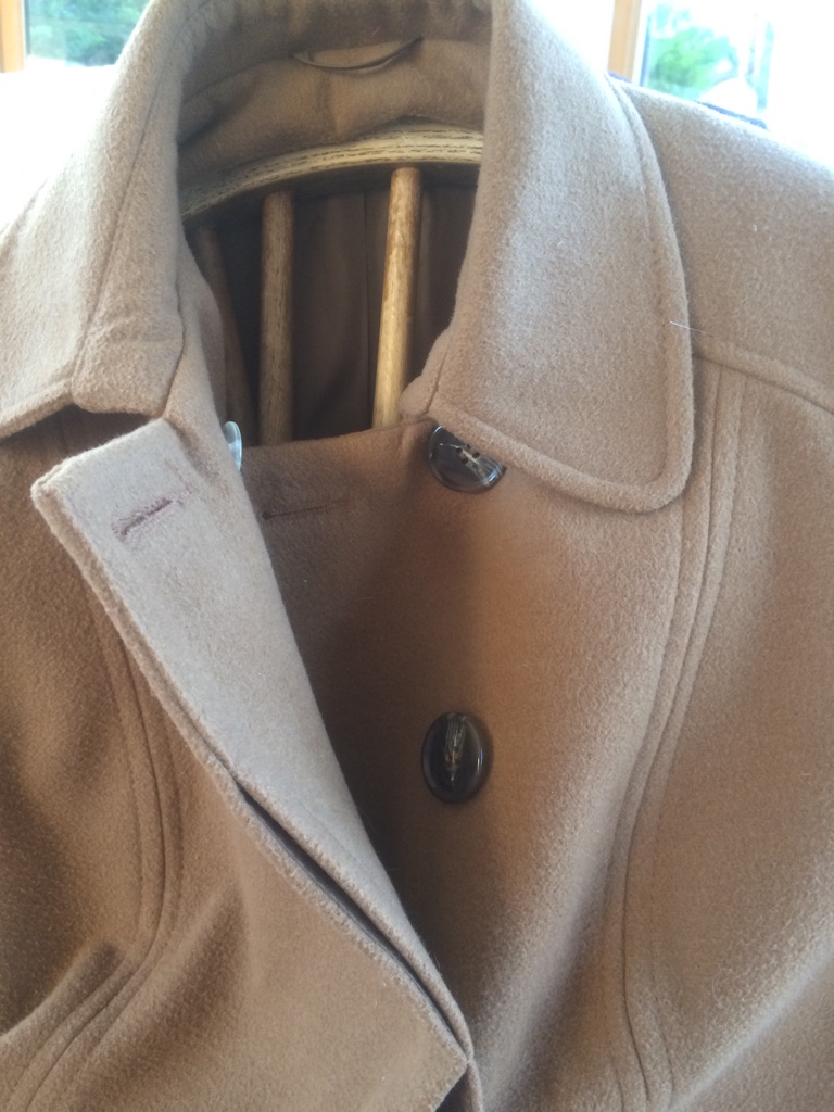 Florence and Fred camel winter coat size 14