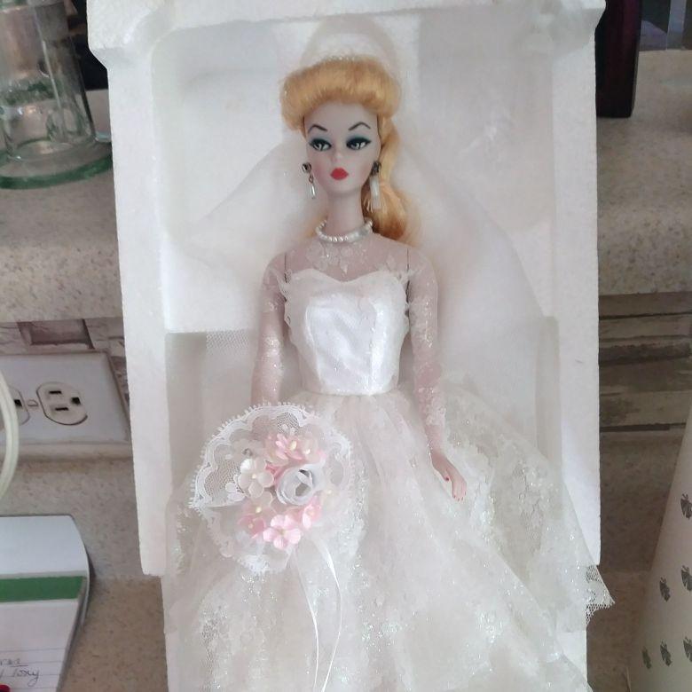 1959 wedding Barbie Porcelain