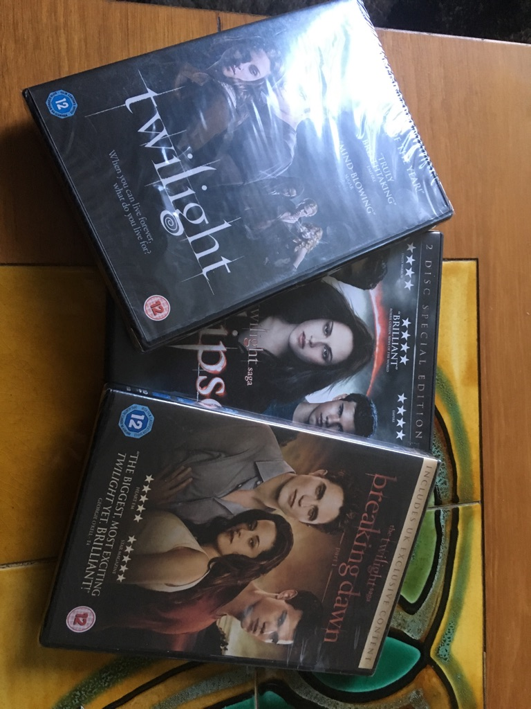 Twilight dvds - two unopened