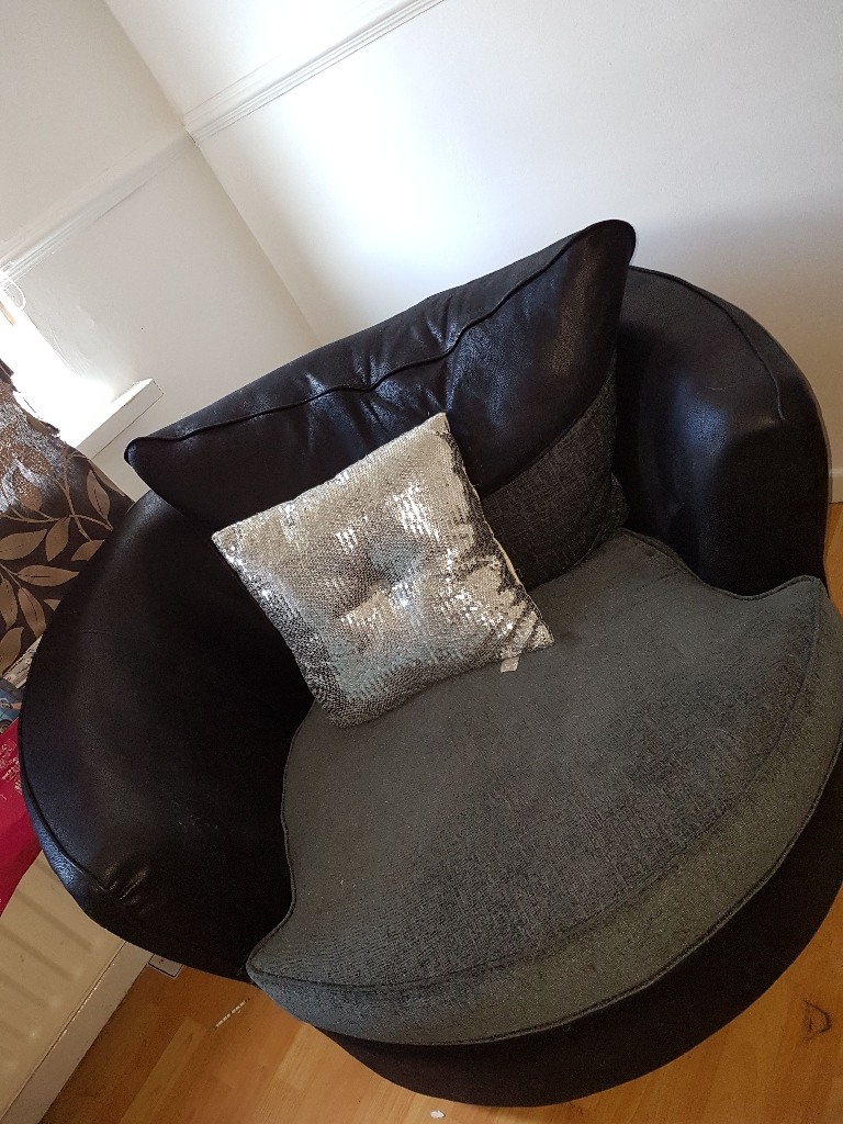 Swivel and sofa