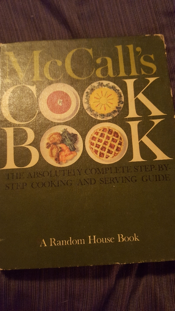 McCall's COOK BOOK By the McCall Corporation copyright 1963 First Printing