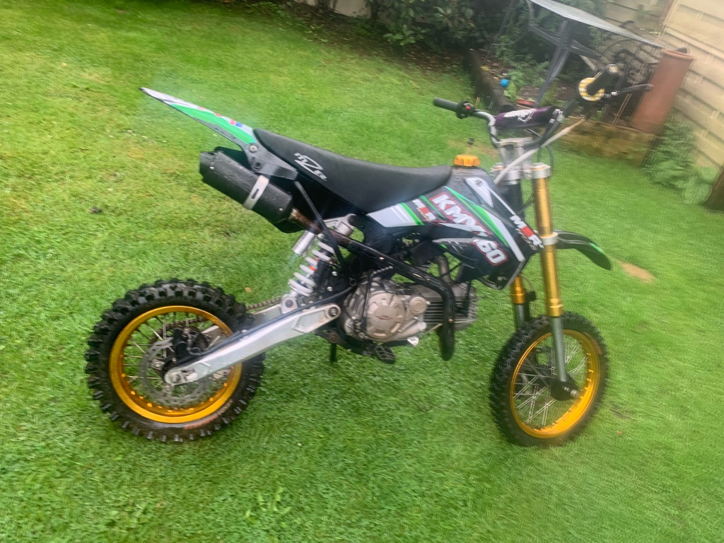 2019 made 2 race kmx 160 with upgrades