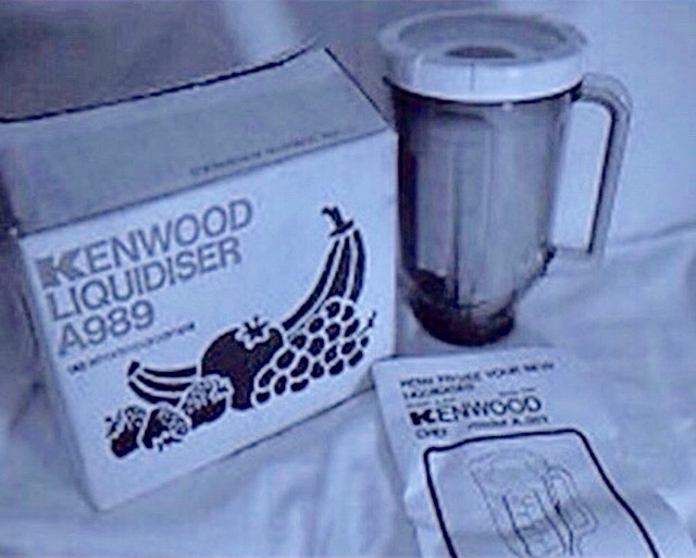 KENWOOD CHEF DELUXE A989 LIQUIDIZER/BLENDER