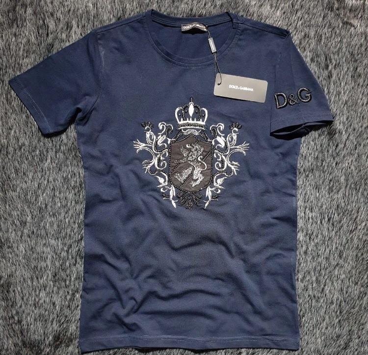 New men's T-shirt- 100% cotton