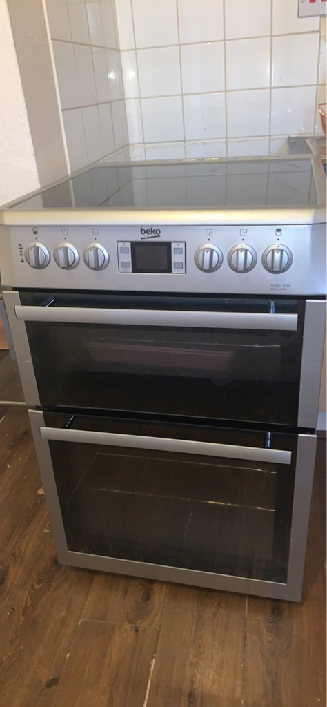 Glass top oven