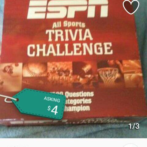 ESPN trivia challenge game