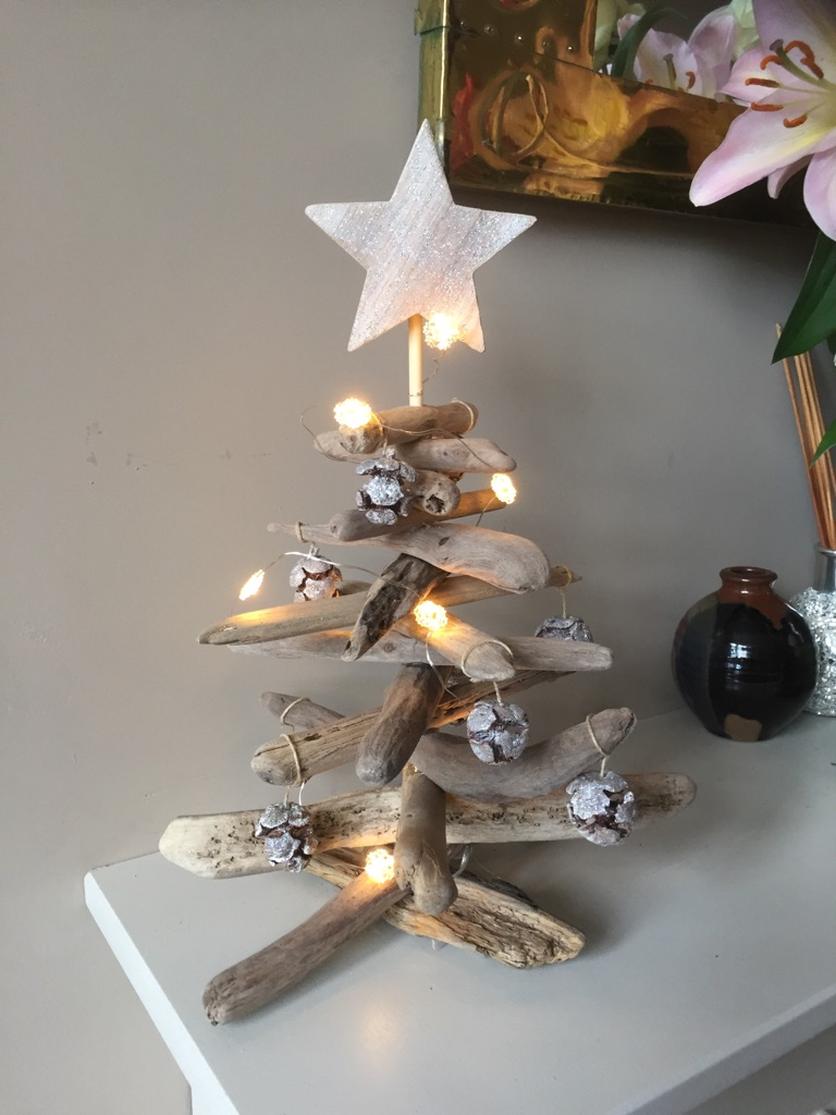 Driftwood Christmas trees. Made to order £35