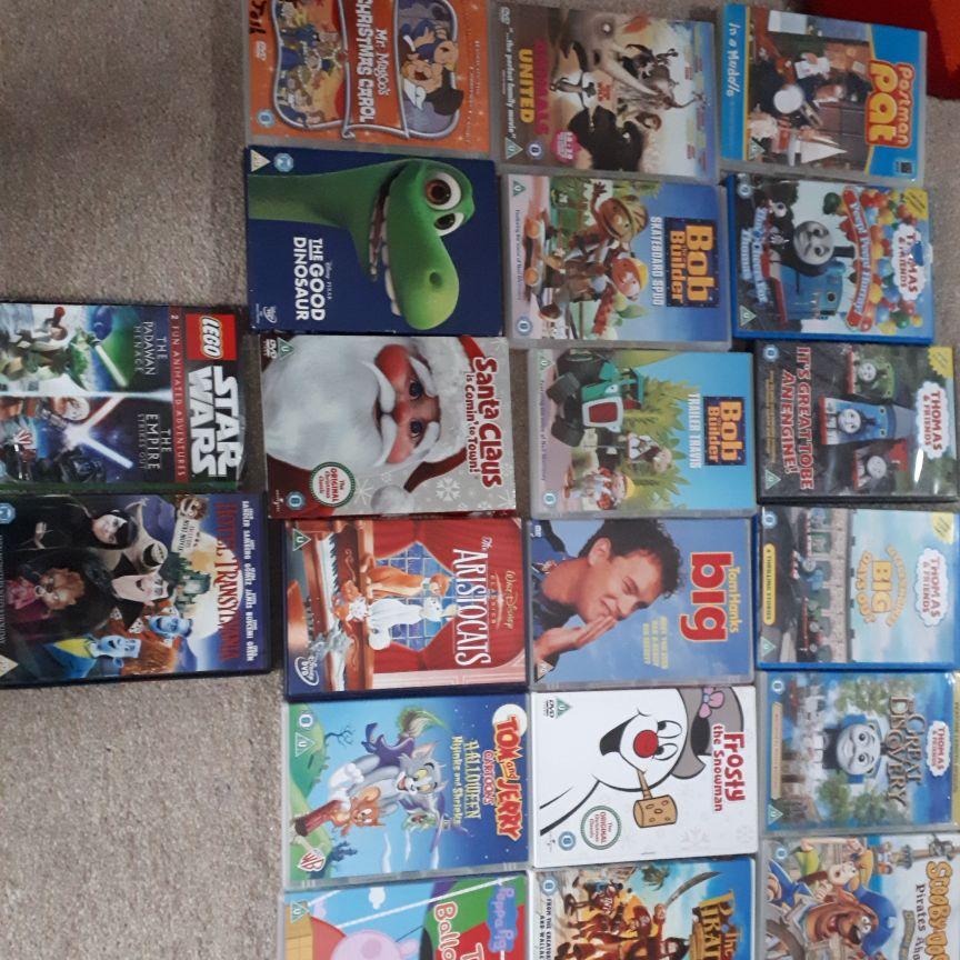 22 children dvds
