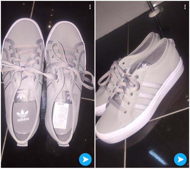 BRAND NEW ADDIDAS NIZZA TRAINERS