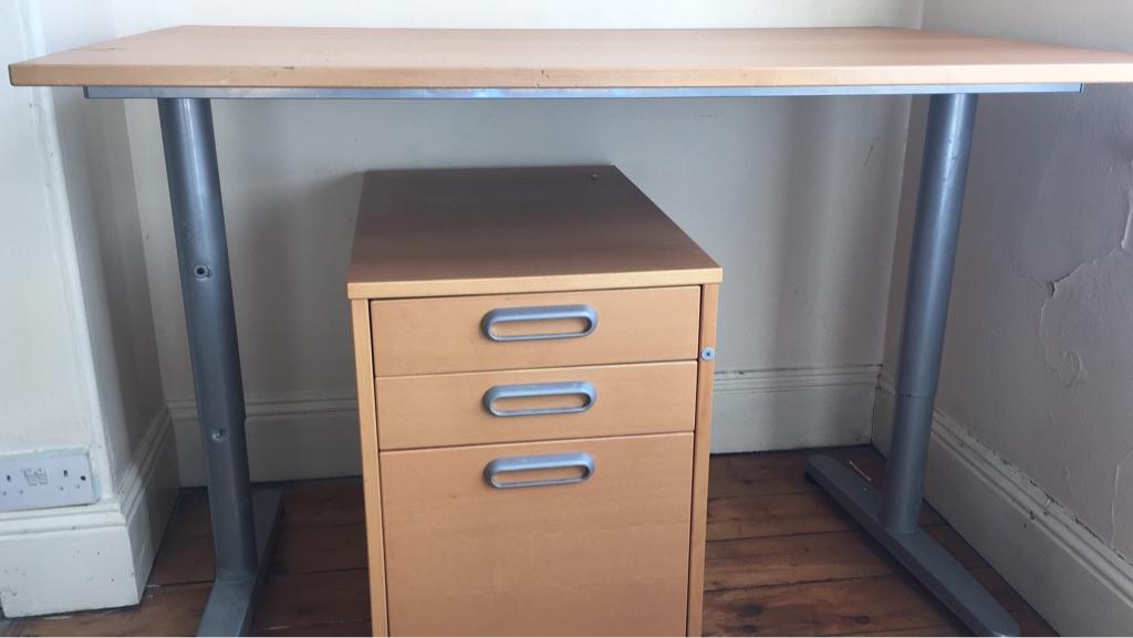 Sofas x4 desks x4 cupboard x2
