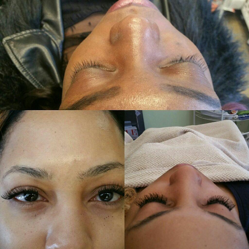 Beautiful eye lashes