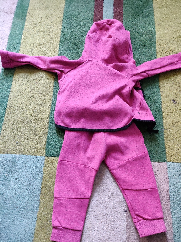 Nike tech baby girl's Tracksuit