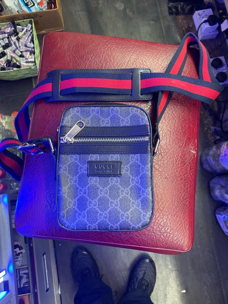 Gucci GG Black Messenger Bag