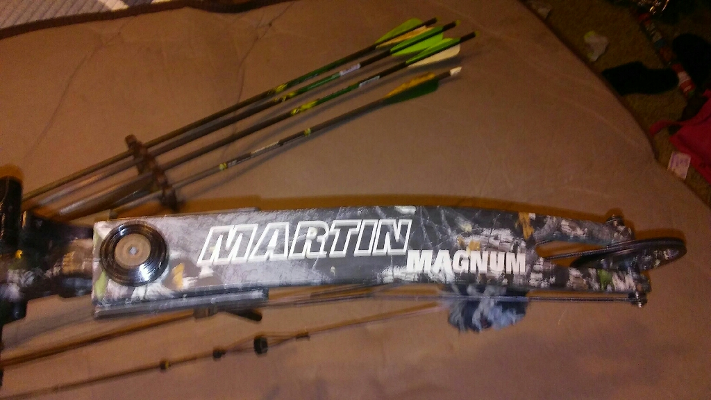 Martin magnum compound bow