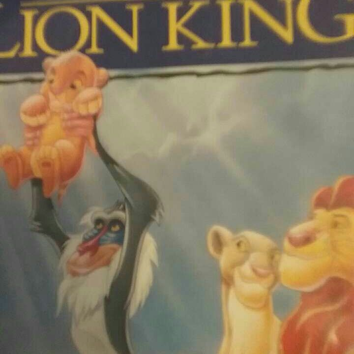 The lion king vhs masterpiece collection