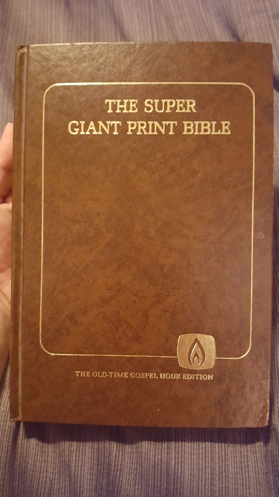The Super Giant Print Bible