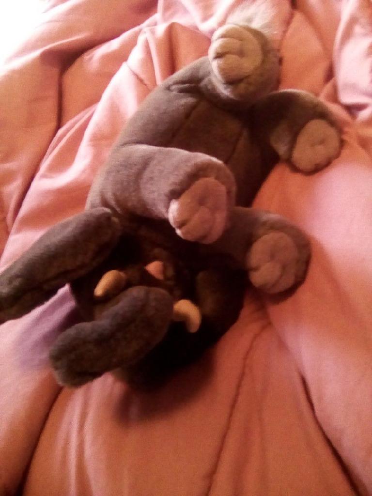 Save elephants plush toy elephant
