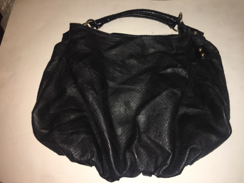 Bebe Faux leather Shoulder handbag