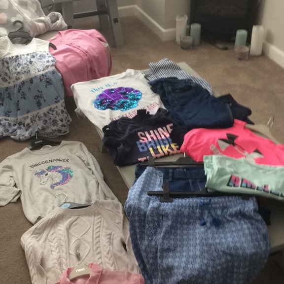 Bundle of clothes for 11 - 12 Girl