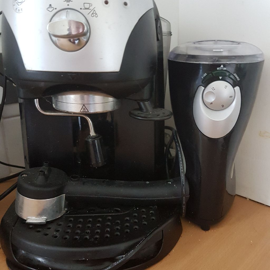 Delonghi multi coffee machine and grinder