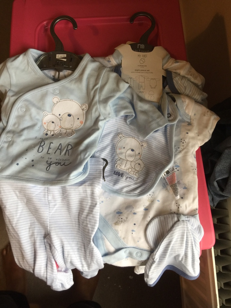 Baby boy clothes 0-3 months, brand new