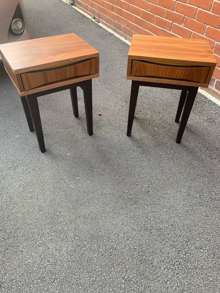 2 Steijer Bedside Tables