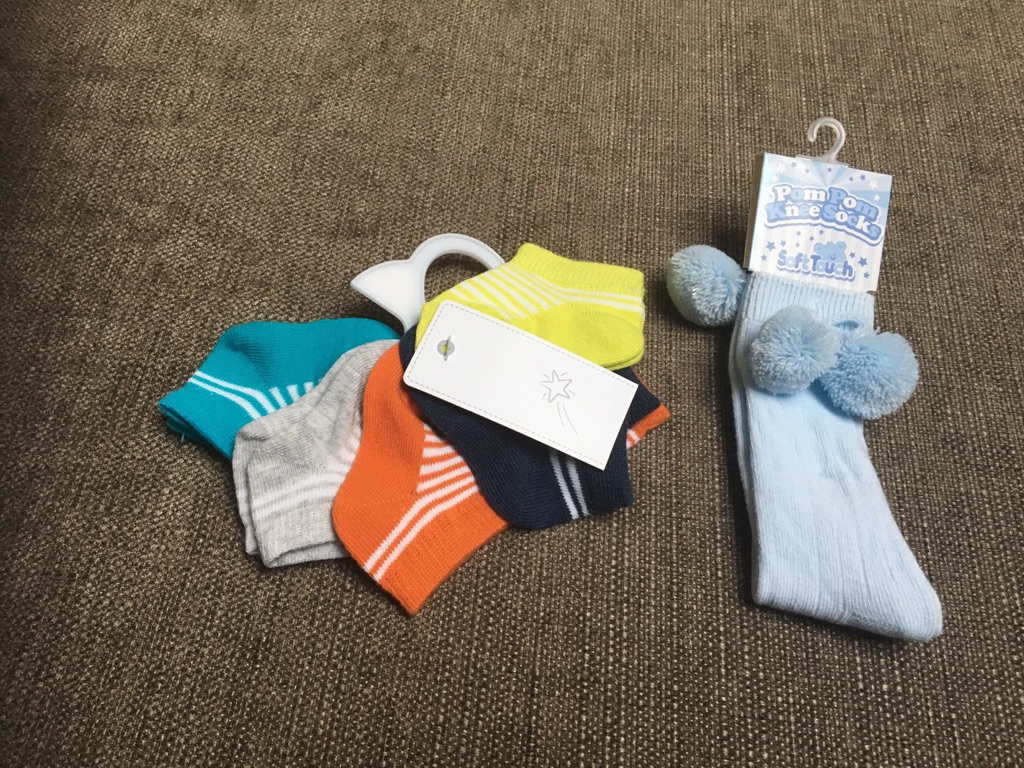 Baby boys trainers and socks NEW