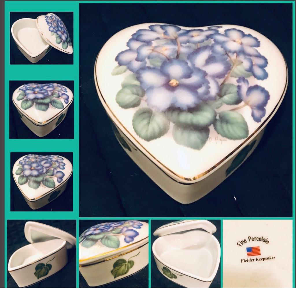 Fielder Keepsakers- Heart shaped box