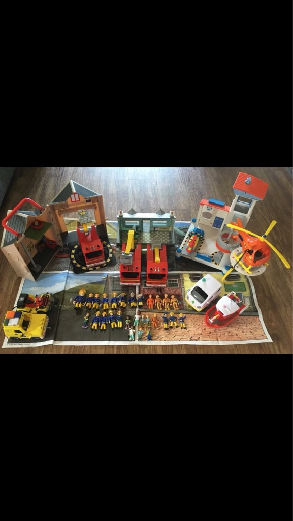 Big Fireman Sam bundle