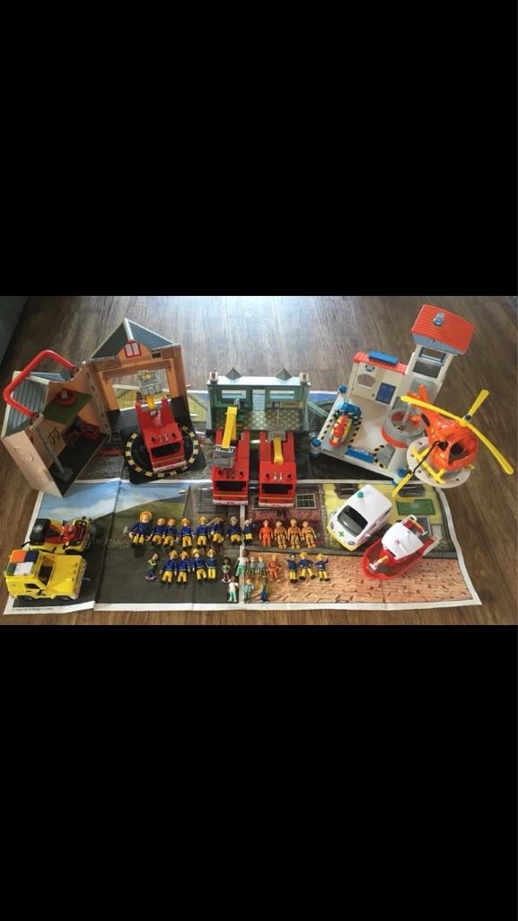 Big Fireman Sam bundle