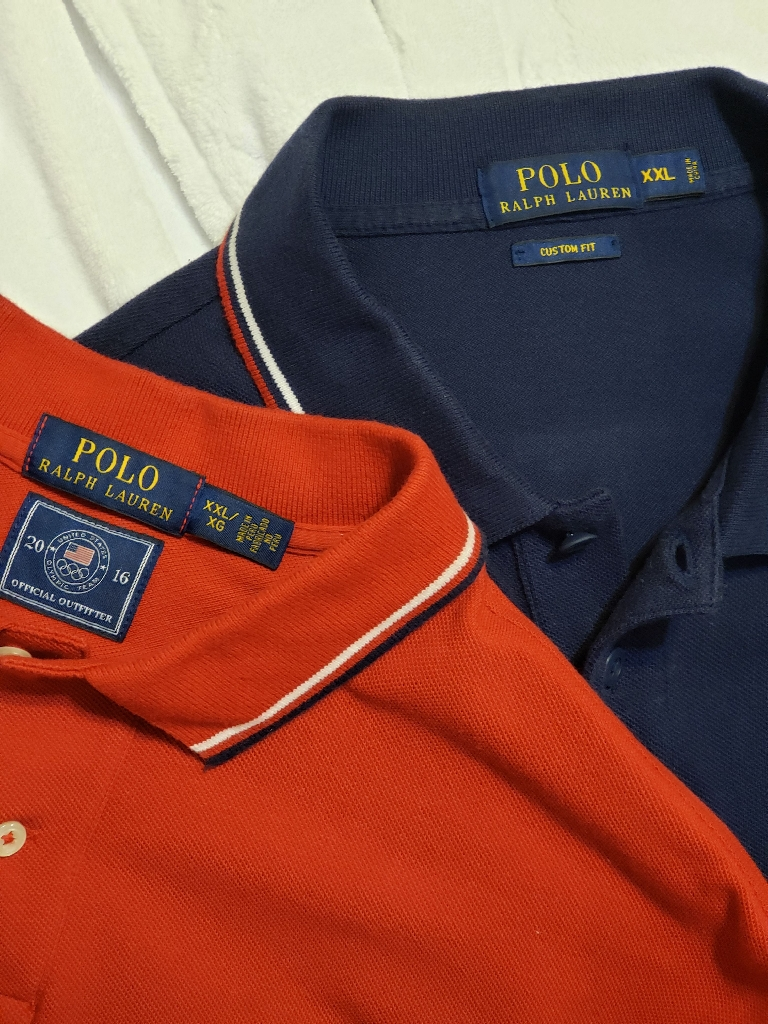 2 POLOS FOR  $50