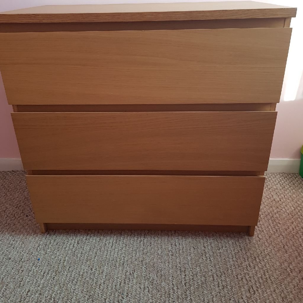 2 x Ikea chest of drawers